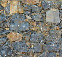 Stone wall texture Sticker