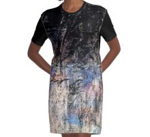 abstract 9-16e Graphic T-Shirt Dress