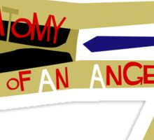 Anatomy of an Angel Sticker
