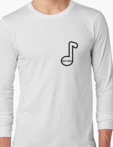 christian sticker with notes Long Sleeve T-Shirt