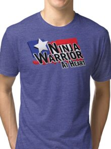 Ninja Warrior at Heart Tri-blend T-Shirt