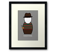 Nightmare on Elm Street Framed Print