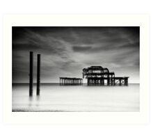 West Pier, Brighton Art Print