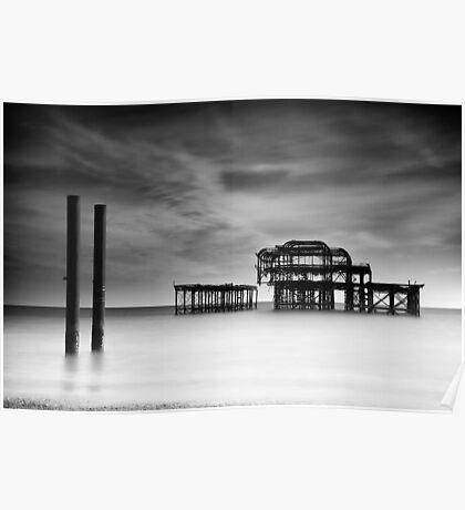 West Pier, Brighton Poster