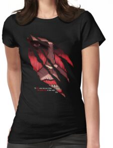 The Titan Inside you Womens Fitted T-Shirt