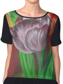 Two Tulips Chiffon Top