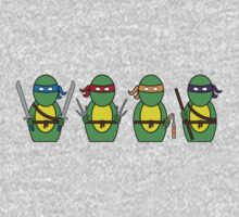 Teenage Mutant Ninja Turtles (without quote) Baby Tee