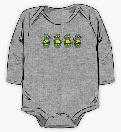 Teenage Mutant Ninja Turtles (without quote) One Piece - Long Sleeve