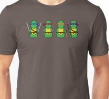 Teenage Mutant Ninja Turtles (without quote) Unisex T-Shirt