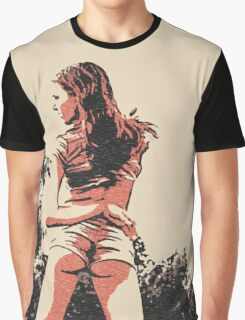 "Kinky posing and ""Dat ass"", sexy girl in hot pose Graphic T-Shirt"