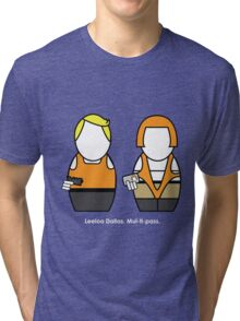Fifth Element (with quote) Tri-blend T-Shirt