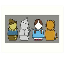 Wizard of Oz (without quote) Art Print