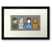 Wizard of Oz (without quote) Framed Print