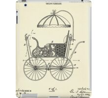 Child's Carriage-1896 iPad Case/Skin