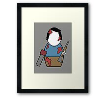 Evil Dead (without quote) Framed Print