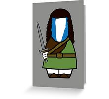 Braveheart (without quote) Greeting Card
