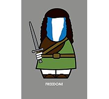 Braveheart (with quote) Photographic Print