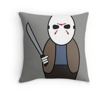 Friday the 13th (without quote) Throw Pillow