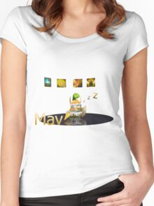 Mav Women's Fitted Scoop T-Shirt