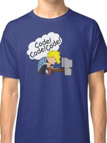 Code! Code! Code! Classic T-Shirt