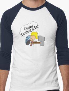Code! Code! Code! Men's Baseball ¾ T-Shirt