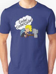 Code! Code! Code! Unisex T-Shirt