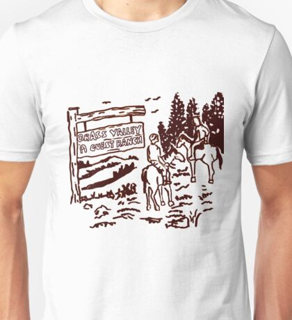 STRANGER THINGS - Dustin's Grass Valley Shirt - the original Unisex T-Shirt