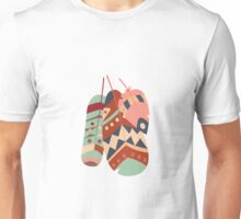 Tribal feather pattern 023 Unisex T-Shirt