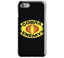 G.I. JOE BLISTER -  COBRA ENEMY! iPhone Case/Skin