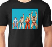 The World Warrior - Blue Album Unisex T-Shirt