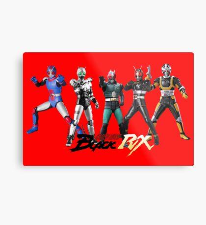 kamen rider evolution Metal Print