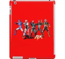 kamen rider evolution iPad Case/Skin