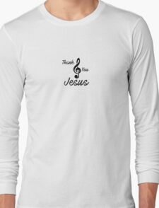 christian sticker with notes 1 Long Sleeve T-Shirt