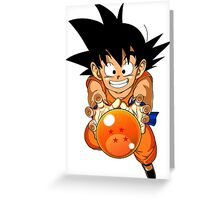 Goku - Dragon Ball Greeting Card
