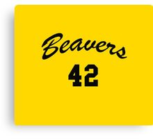 Go Beavers! Canvas Print