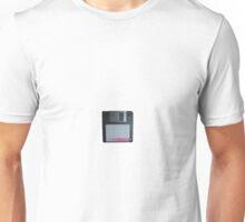 Vintage floppy computer Unisex T-Shirt