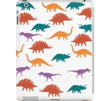 Colorful Dinosaurus Seamles Pattern Background iPad Case/Skin