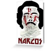 Narcos Greeting Card