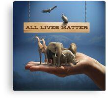 All Lives Matter Canvas Print