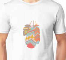 Tribal feather pattern 029 Unisex T-Shirt