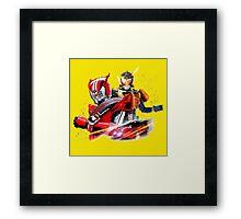 kamen rider gaim Framed Print