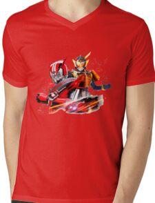 kamen rider gaim Mens V-Neck T-Shirt