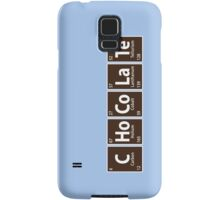 C.Ho.Co.La.Te (Chocolate spelled with Periodic Table) Samsung Galaxy Case/Skin