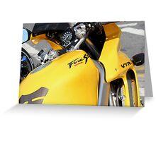 Honda VTR1000F Firestorm Greeting Card