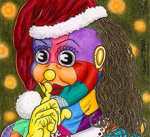 Shh!  Santa Scraps is Sneaking by Kevenn T. Smith by KevennTSmith