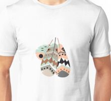 Tribal feather pattern 033 Unisex T-Shirt