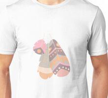 Tribal feather pattern 034 Unisex T-Shirt