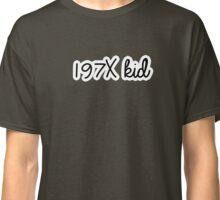 1970 kid | memorable Classic T-Shirt