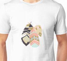 Tribal feather pattern 035 Unisex T-Shirt