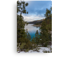 The Beautiful East Shore Canvas Print